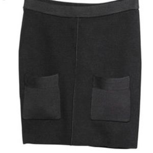 Sonia Rykiel x H&M black skirt